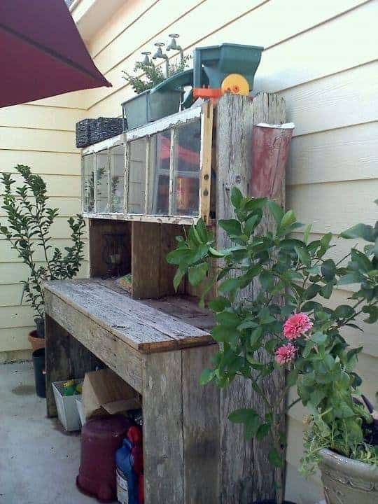 5 Repurposed Potting Benches For All Styles 1001 Gardens