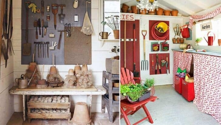10 Garden Tool Racks You Can Easily Make