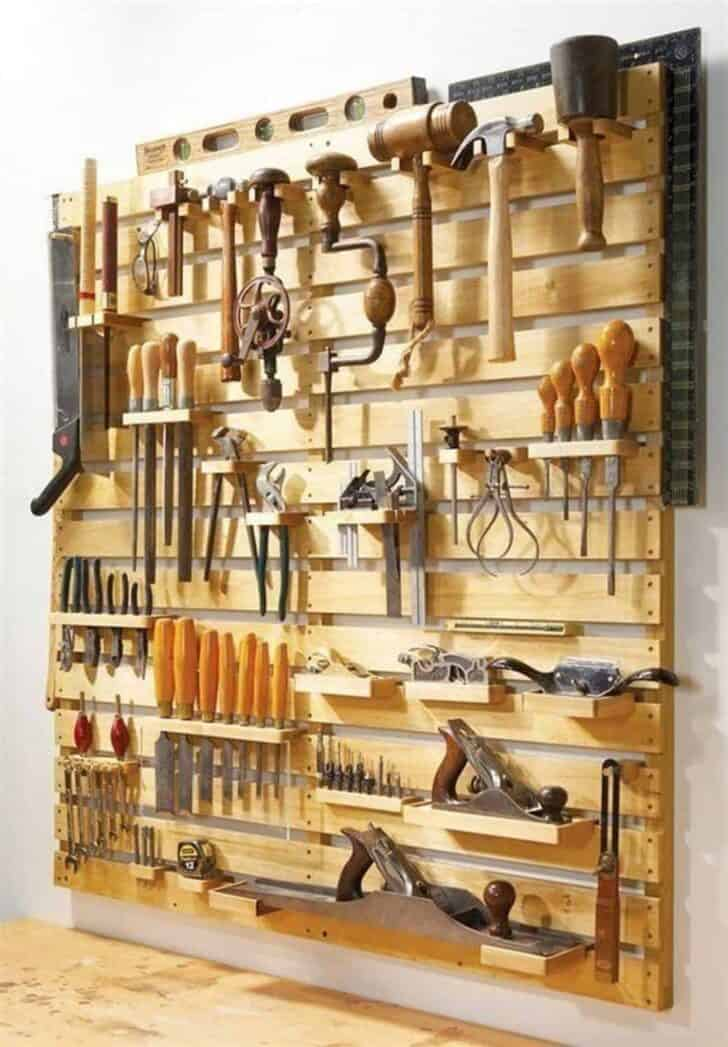 12 Garden Tool Storage Racks Easy to Make 2 - Sheds & Outdoor Storage