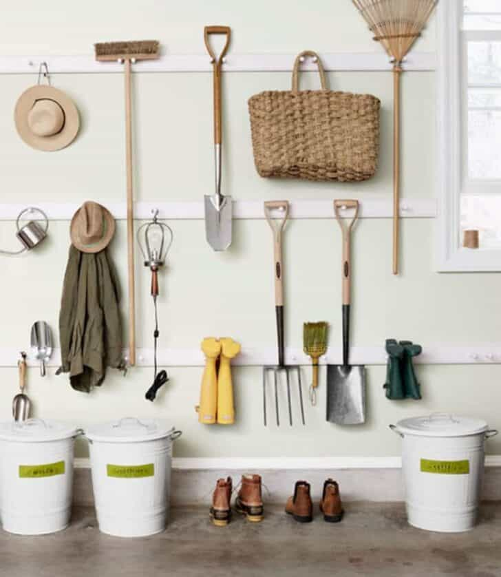 12 Garden Tool Storage Racks Easy to Make 15 - Sheds & Outdoor Storage