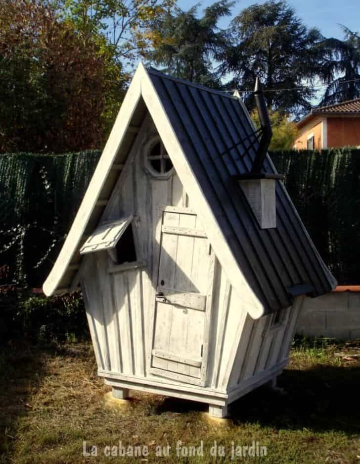 Tim Wood Kids Playhouse - sheds-huts-treehouses
