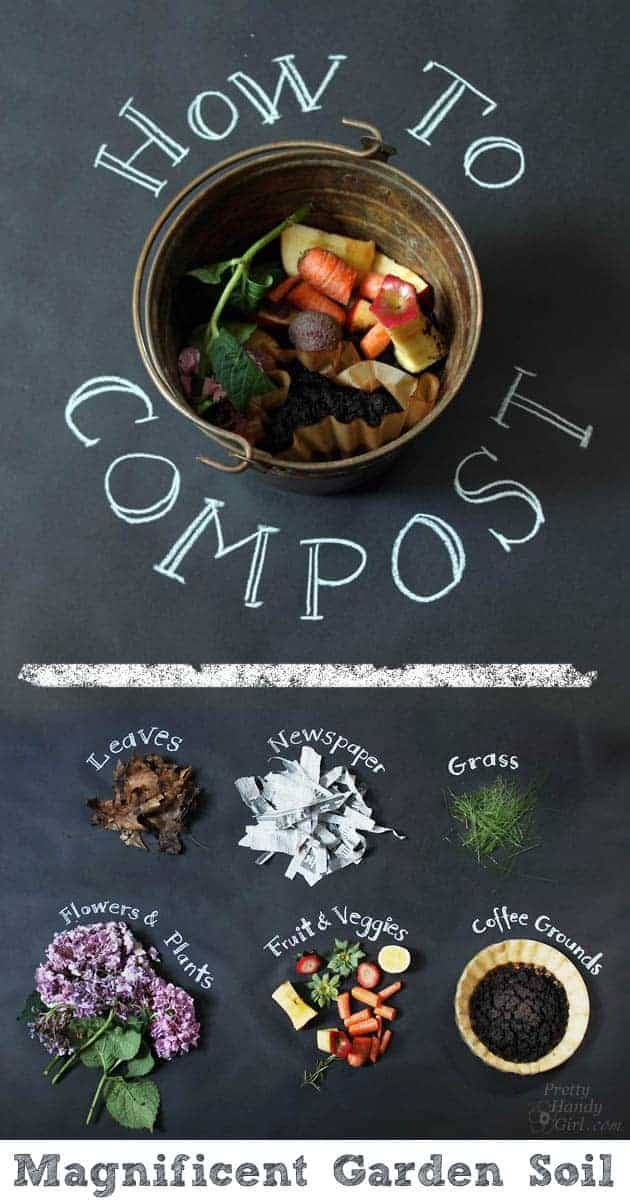 Basic Rules to Learn How to Make Your Compost - flowers-plants-planters