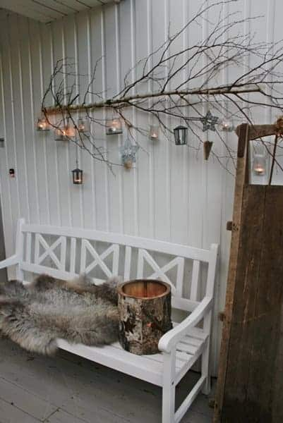 10 Christmas Porch Decor Ideas and Inspiration - patio-outdoor-furniture