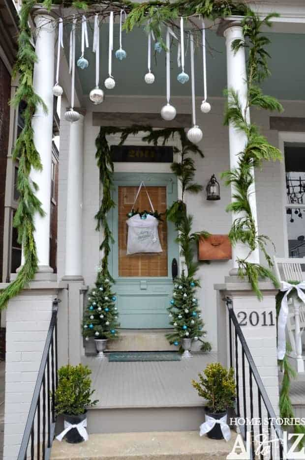 10 christmas porch decor ideas and inspiration patio outdoor furniture