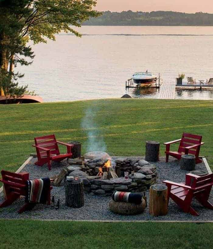 10 Outdoor Firepits Your Boss Wants to Have - landscaping, grills-bbq-firepits