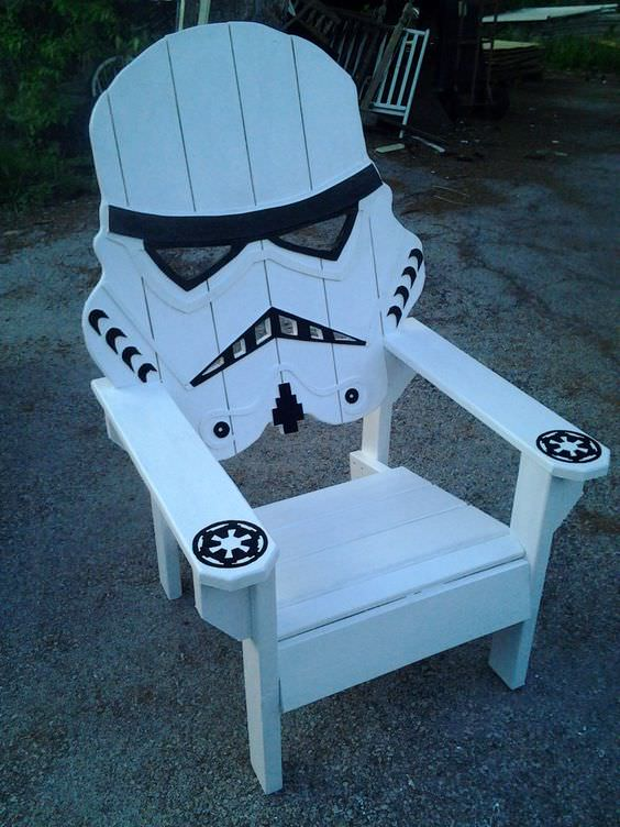 10 Adirondack Chair DIY Decor Ideas