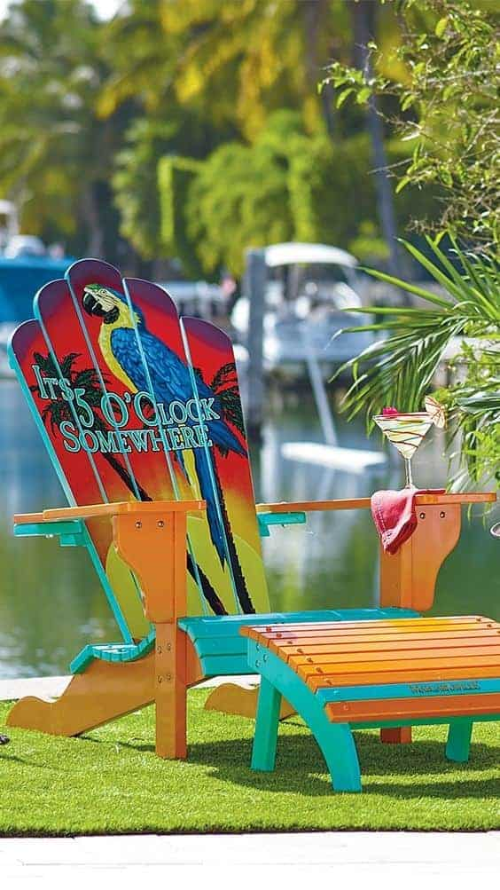 10 adirondack chairs you will love garden decor ideas. Black Bedroom Furniture Sets. Home Design Ideas