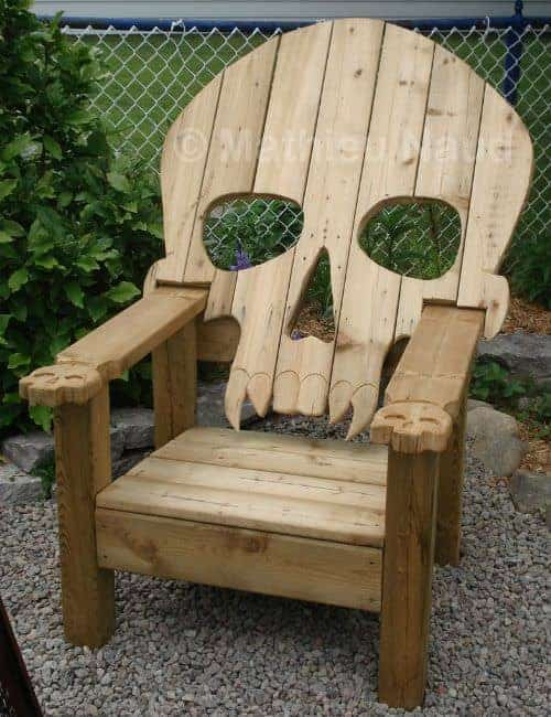 10 Adirondack Chair DIY Decor Ideas6
