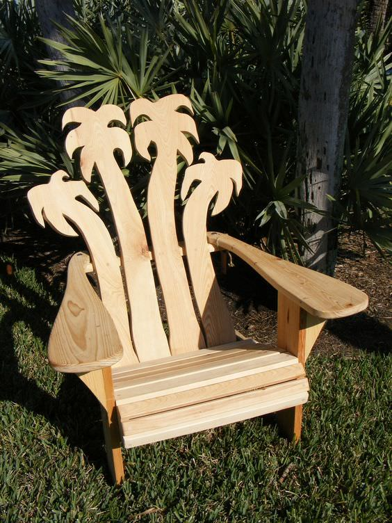 10 Adirondack Chair DIY Decor Ideas8