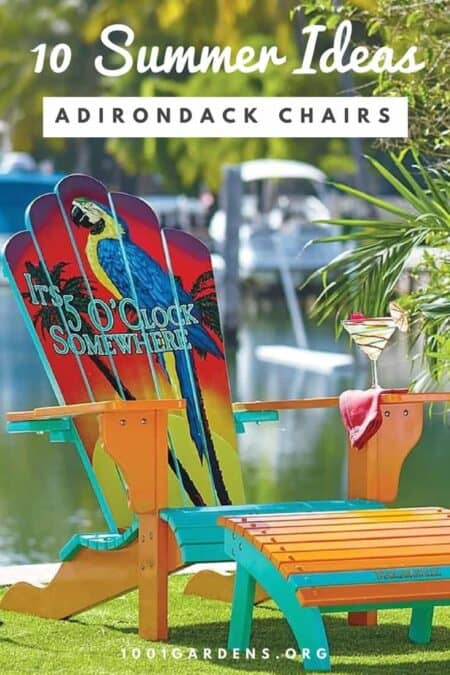 10 Adirondack Chair Ideas for Your Patio