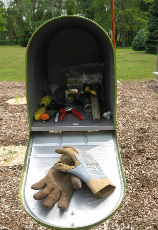 Garden Mailbox Toolshed - mailboxes