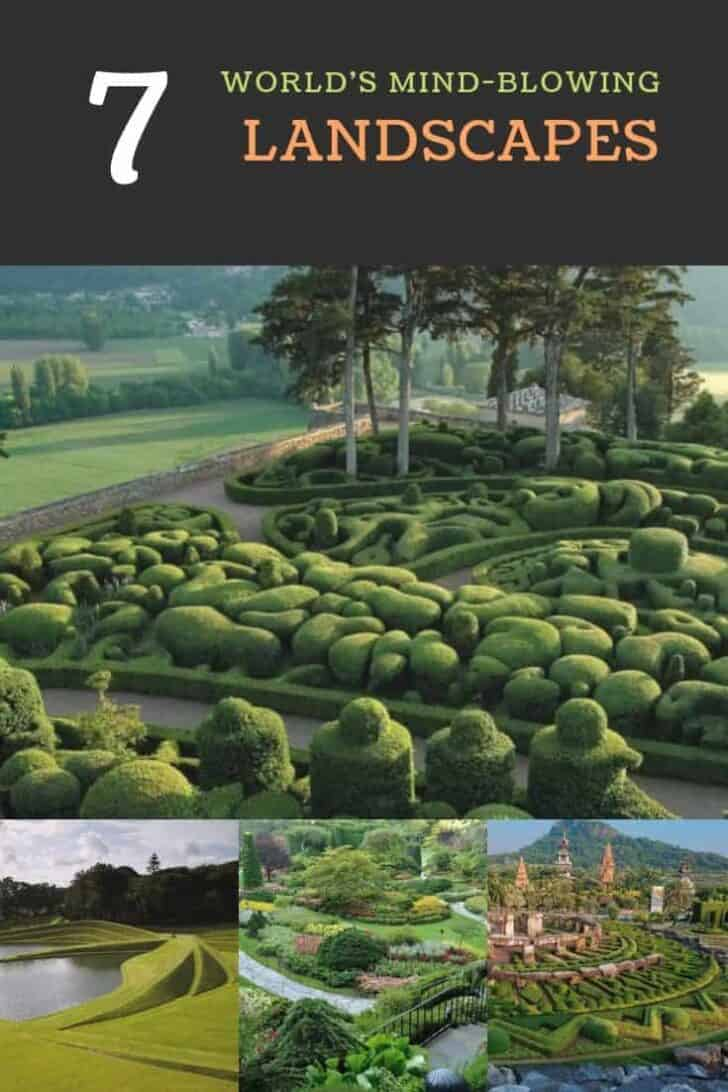 7 of the World's Most Beautiful Gardens Landscapes
