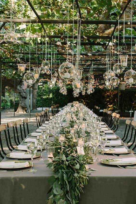 10 shabby chic garden wedding decoration ideas 1001 gardens - Garden wedding decorations pictures ...