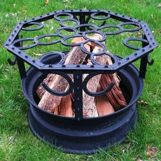 10 Creative Recycling Diy Grill Bbq Fire Pit Projects on Art Recycled Car Parts Furniture