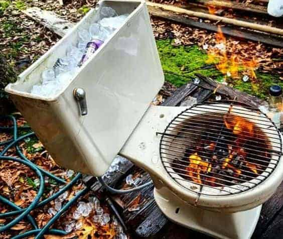 10 Creative Recycling DIY Grill-Bbq-Fire Pit Projects