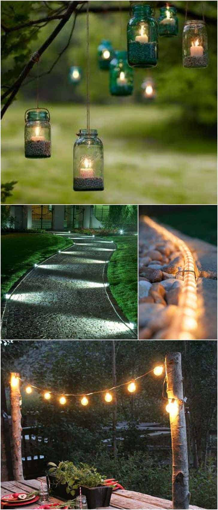 10 Outdoor Lighting Ideas For Your Garden Landscape. #5 Is Really Cute U2022  1001 Gardens