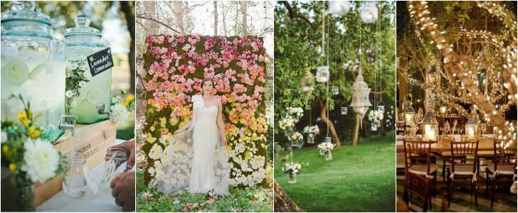 10 Shabby Chic Garden Wedding Decoration Ideas Decor