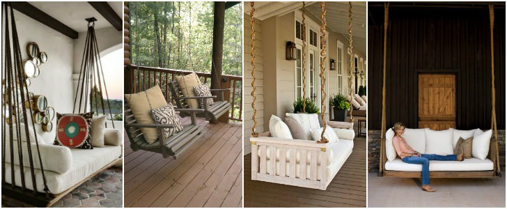 7 DIY Outdoor Swings That'll Make Warm Nights Even Better. #6 Is Just Stunning