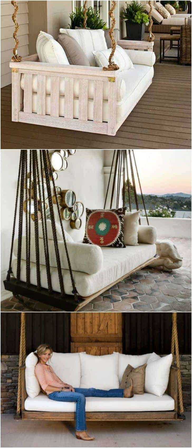 7 DIY Outdoor Swings That'll Make Warm Nights Even Better ...