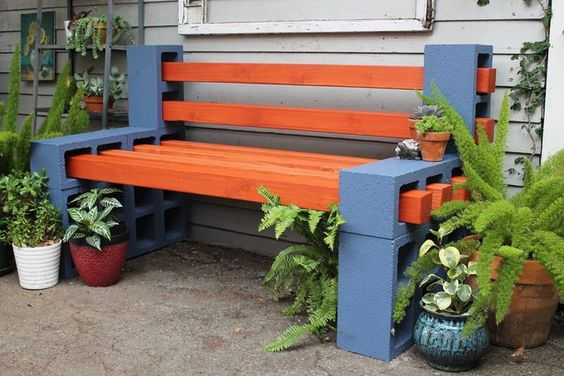 Genial How To Make A Cinder Block Bench: 10 Amazing Ideas To Inspire You!