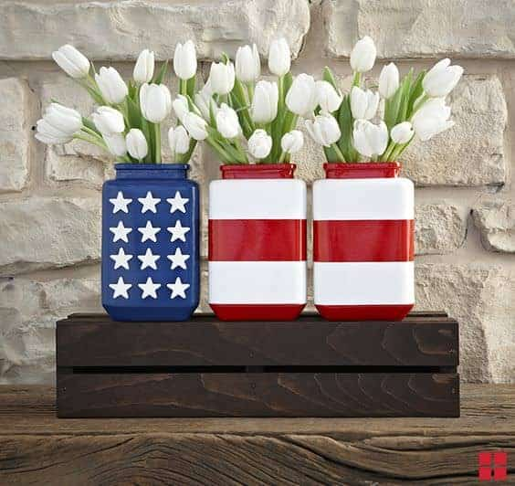 8 Quick & Cheap Decoration ideas for your 4th of July Garden Party