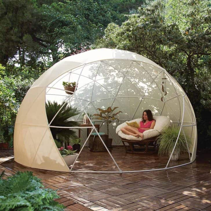 Great Multi-purpose Garden Igloo - sheds-huts-treehouses