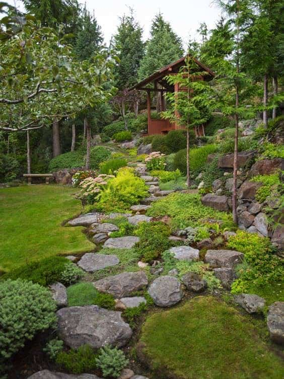 How to landscaping with rocks garden decor 1001 gardens for Landscaping with rocks