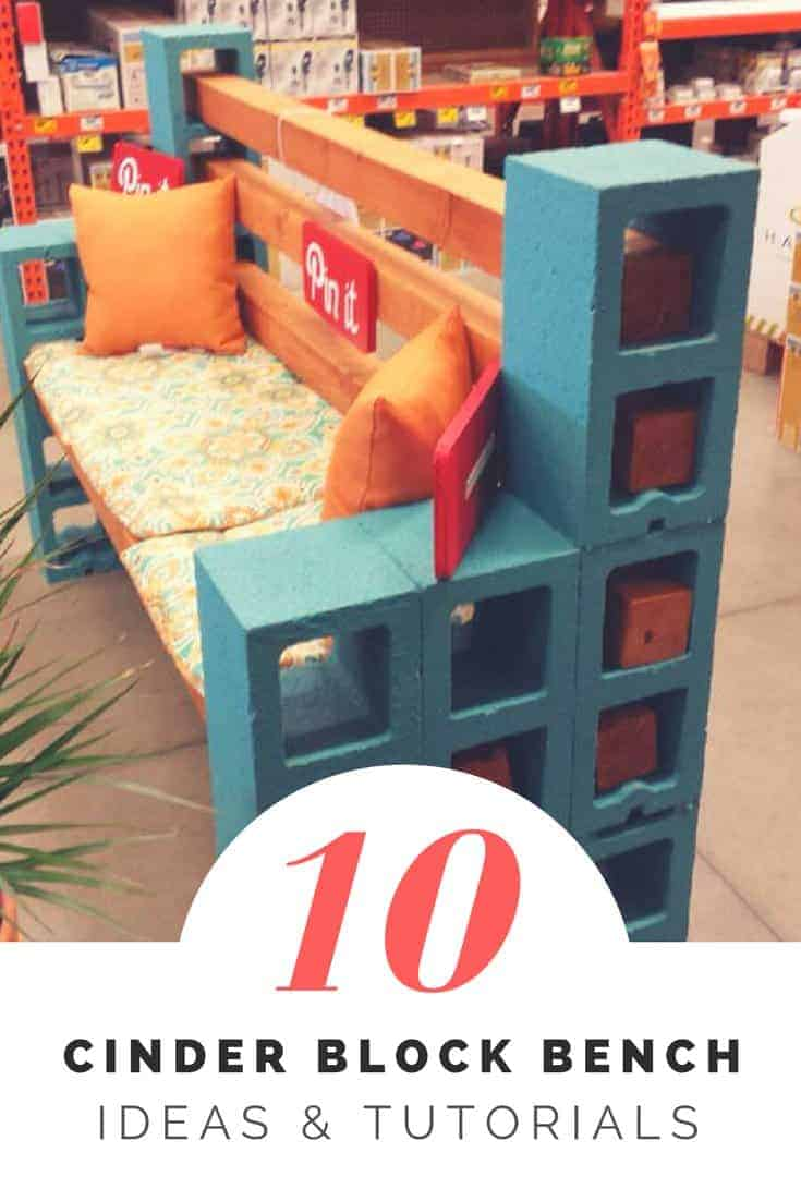 How To Make A Cinder Block Bench 10 Amazing Ideas To