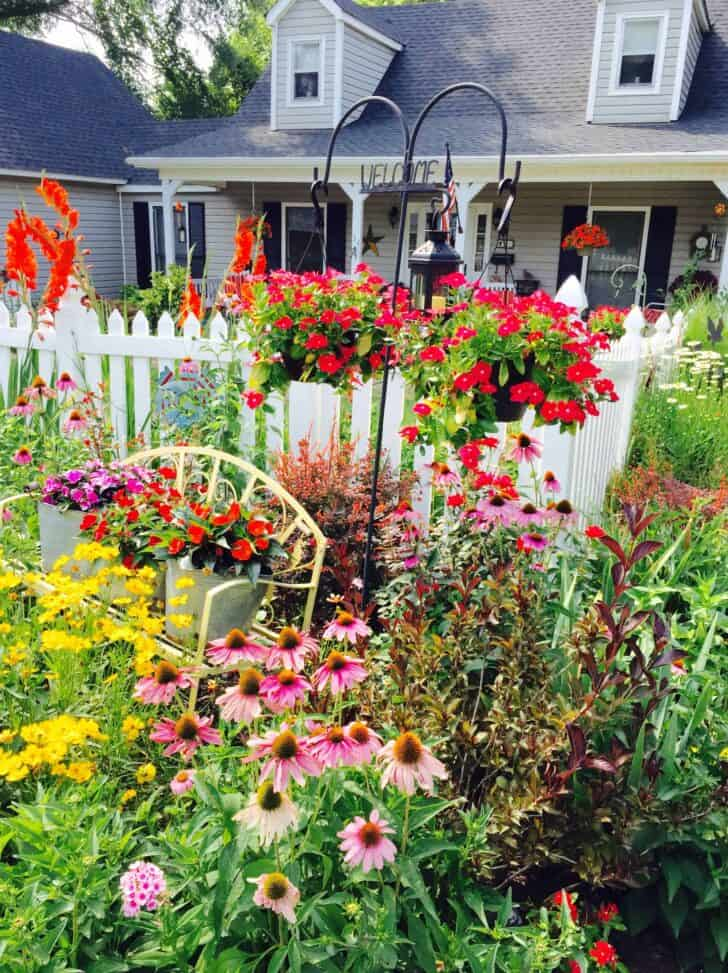 Picket Fence Garden Fences