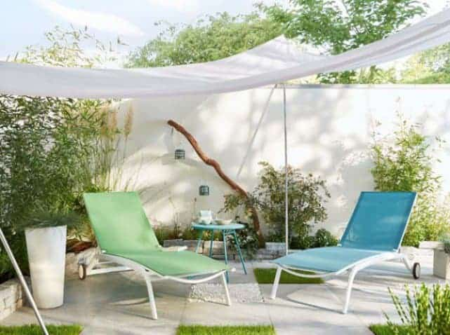 10 decor ideas to make an original terrace 1001 gardens for Decoration jardin shabby