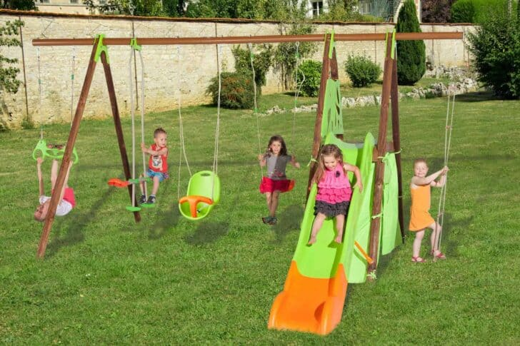 12 Kids Outdoor Games You Want for Your Children - sheds-huts-treehouses, patio-outdoor-furniture