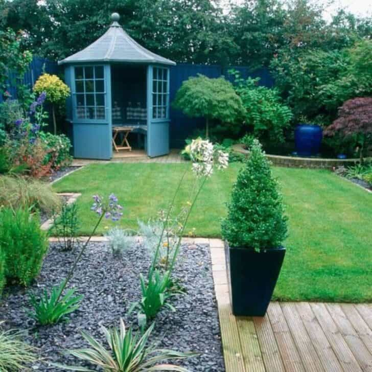6 small garden decoration ideas 1001 gardens for Small garden plans uk