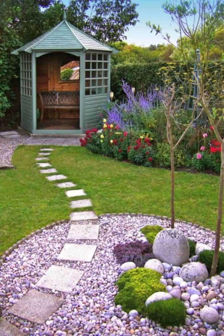 Garden Decorations Part - 19: 6 Small Garden Decoration Ideas - Patio-outdoor-furniture, Garden-decor