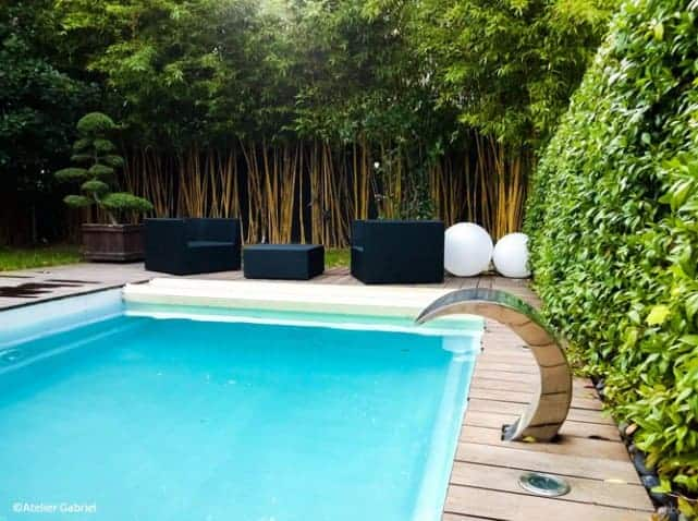 10 tips to decorate your pool area 1001 gardens. Black Bedroom Furniture Sets. Home Design Ideas