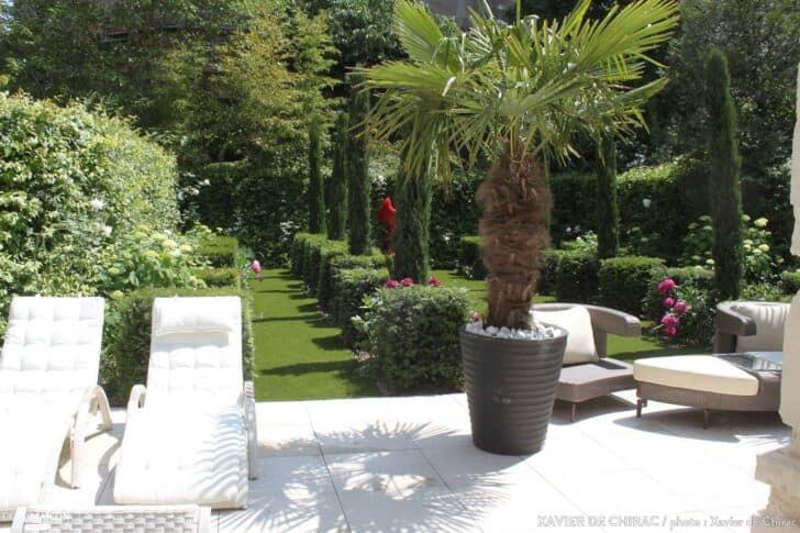 Simple Design Garden in the Heart of Paris Landscapes