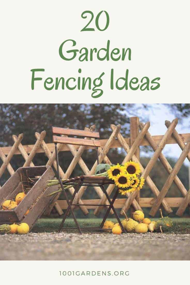 20 Cheap Garden Fencing Ideas 1001 Gardens