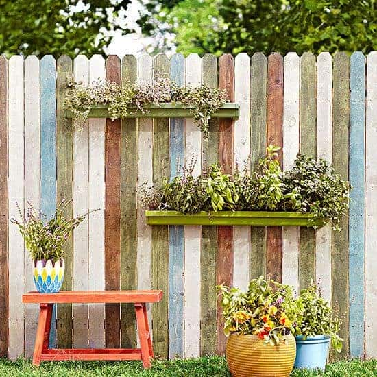 20 Easy DIY Gutter Garden Ideas - garden-decor, flowers-plants-planters