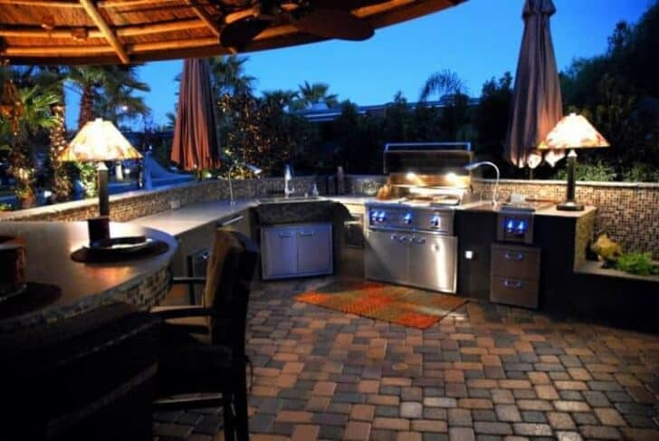 top 20 diy outdoor kitchen ideas grills bbq fire pits patio