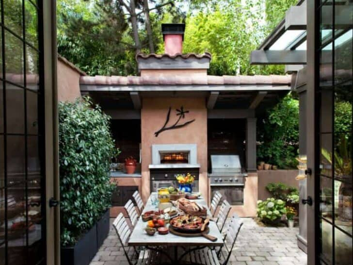 17 U2013 Outdoor Summer Kitchen With Modern Design