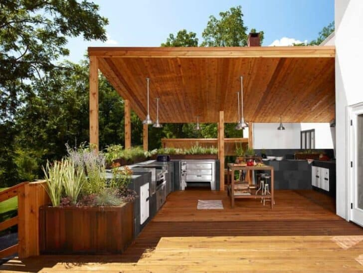 Great Outdoor Kitchen Ideas Top 20   Patio Outdoor Furniture, Grills Bbq