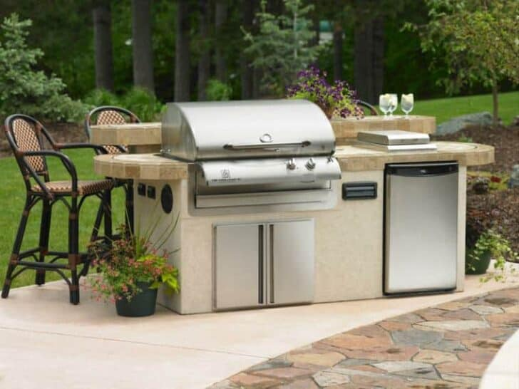 20 diy outdoor kitchen ideas grills bbq fire pits patio outdoor