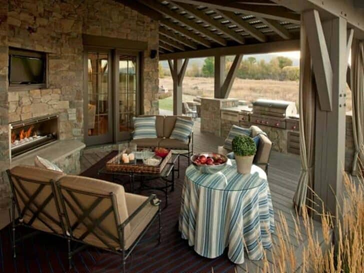 Top 20 DIY Outdoor Kitchen Ideas Grills, Bbq & Fire Pits Patio & Outdoor Furniture
