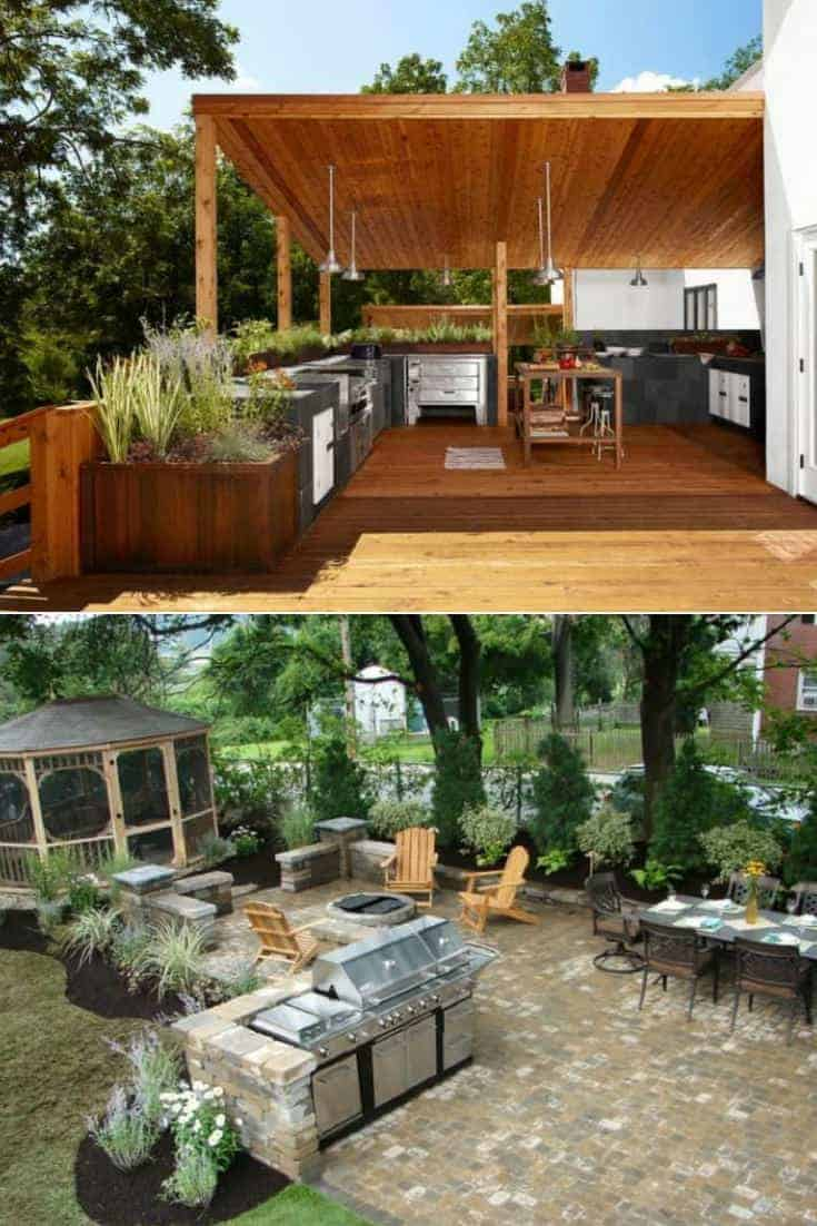 a83fa609f2 Outdoor Kitchen Ideas Top 20 - 1001 Gardens