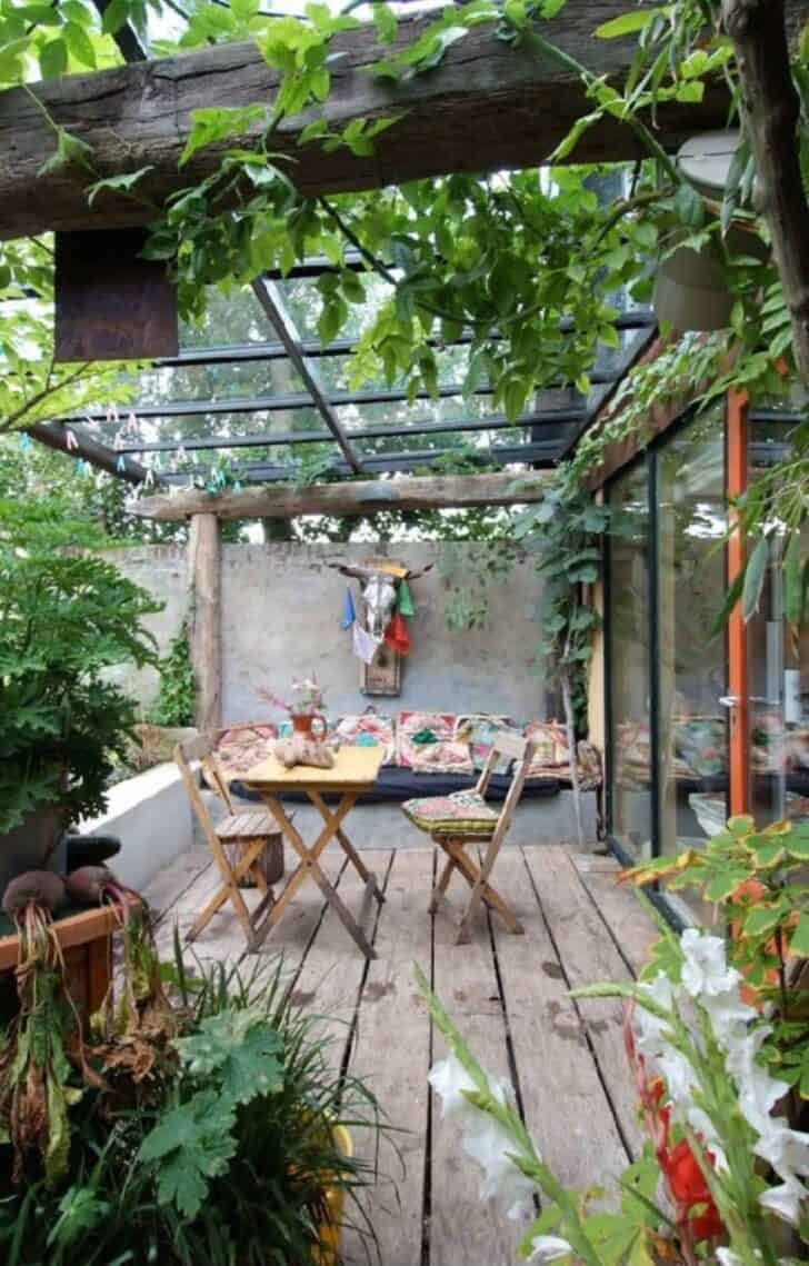8 Ideas to Adopt the Bohemian Spirit on Your Terrace