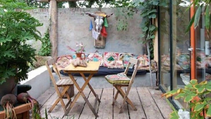 8 Ideas to Adopt the Bohemian Spirit on Your Terrace - patio-outdoor-furniture