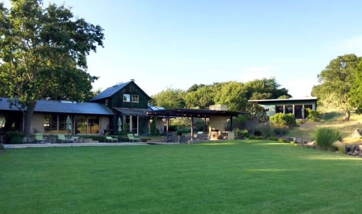 An Artist's House in Napa Valley California - sheds-huts-treehouses
