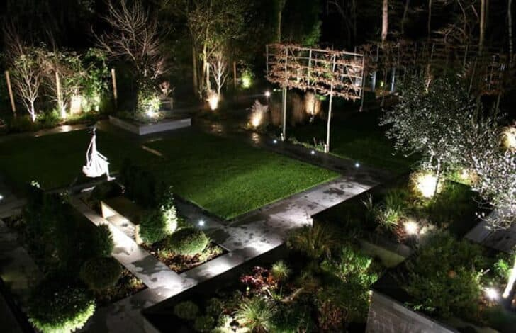 How to Reduce Your Carbon Footprint Outside Garden Decor Outdoor lighting
