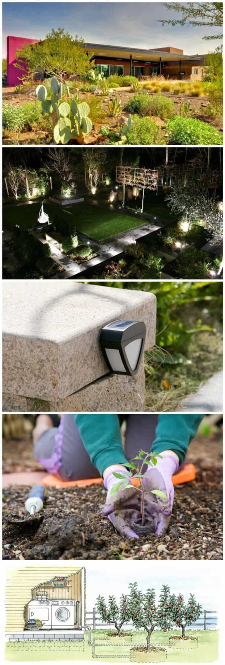 How to Reduce Your Carbon Footprint Outside 8 - Outdoor Lighting