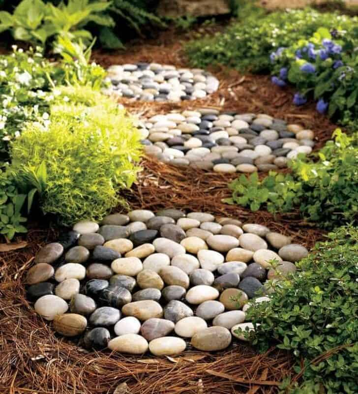 Pebbles And Stones For Gardens 20 diy ideas for garden decor with pebbles and stones 1001 gardens 20 diy ideas for garden decor with pebbles and stones garden decor workwithnaturefo
