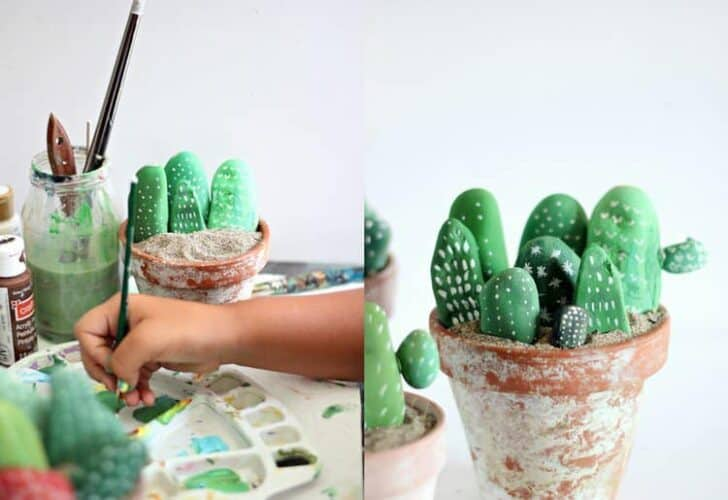 20 DIY Ideas for Garden Decor with Pebbles and Stones